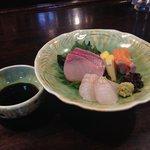 団十郎 - +350円でお刺身付きにできますよぉ♪(第一回投稿分⑥)