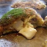 花んらん - お好焼定食(いか玉)