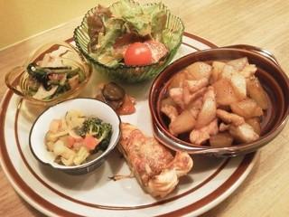こぐま舎 - 野菜プレート(ランチ)