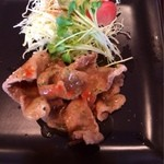 花ホタル - メインの豚天のカレーソース。