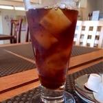 花ホタル - 美味しいアイスコーヒー♪