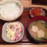 24399623 - 定食セット(200円)