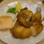 24399850 - 【2014年01月】若鶏の半身揚げ@924円。