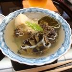 小松 弥助 - 鮑の酒蒸し