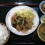 ねむの木 - (20140222) 生姜焼き定食