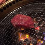 まめ牛 - 男斬りフィレステーキ680円