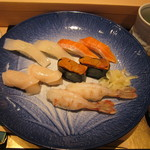おたる 旭寿司 - 北海お好みにぎり(3675円)