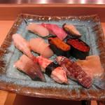 おたる 旭寿司 - 旭にぎり(3150円)