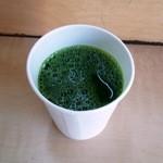 青汁の店 - 青汁/100cc(オレンジジュース入り)