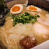 麺匠 桂邸 - 料理写真:1-1)味玉入り 濃厚 鶏骨醤油らーめん(850円)