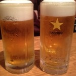 キッチン・ゴン - 生ビール☆ 500円