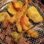 24406682 - ずわい蟹・穴子・海老・野菜の天婦羅