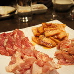 焼肉 有牛 - せせり・豚ロース・豚バラ・味噌豚バラ