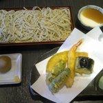 蕎麦しるべ 酔蕎庵 ちどり丸 - そば・天ぷら定食