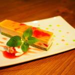 Cafe VG - トマトの苺ムースケーキ