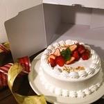 Cafe VG - 苺のショートケーキホール