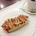 阪急ベーカリー&カフェ - ホットドッグセット
