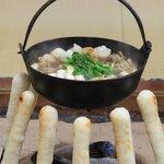 料亭 北秋くらぶ - きりたんぽ鍋