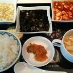 24410259 - 三色麻婆豆腐ランチ