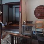 茶院 葉名木 - 座敷(行った時は使われていませんでした)