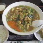 アジア料理 菜心 - 五目湯麵