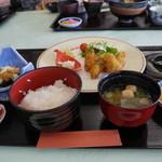能登小牧台 - 料理写真:カキフライ定食