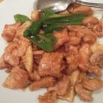 魯美雲 - 肉のカキ油炒め