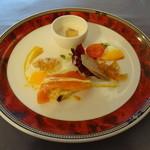resutoranrengaya - Bランチコース 前菜です。