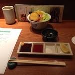 24415761 - 野菜鉢と味噌