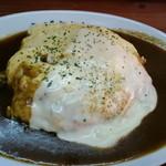 えびすカレー - オムチーズカレー