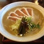 麺ゃ しき - らぁ祭限定 濃厚白湯(880円)