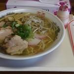 ゆらや食堂 - チャシュラーメン(650円)