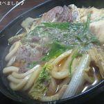 たこ柾 - 牛鍋アップ