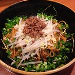 翠香 - 汁なし坦々麺