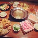 roan - 充実の食べ放題、夜はこれで2000円は安い!