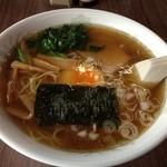 ときわや食堂 - セットのラーメン(2013年June)