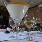 24424443 - 2014.2)上にはゼリー状にしたオマール海老の出汁。これがおいしい
