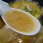 24426571 - スープを。(豚骨醤油らーめん)