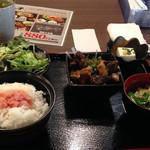 博多もつ鍋 はらへった - 牛すじのじっくり煮込み定食880円