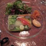 24427033 - スペシャリテの野菜だけのテリーヌ