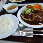 レストラン ユっぴー - ヒレカツセット  ¥1100
