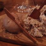 アルルの食堂 urura - Feb, 2014 大山鶏のレバーパテ&岩中豚のリエット
