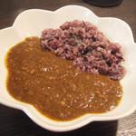 ブランシュ - 黒米カレー(900円)