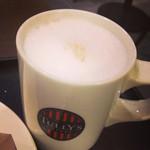 タリーズコーヒー - カプチーノ(シナモン抜き)