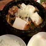 24433367 - 肉ランチ「豆腐チゲ定食」 (2014.02)
