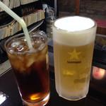 串かつ酒場 なにわ屋本舗 - オラは烏龍茶!