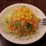 インド料理 ナンカレー 板橋店 - ランチのサラダ