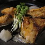 悠里 - サーモンかま塩焼