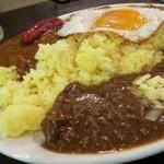 セイロンキッチン Bentota - メガツインカレー(1000円)