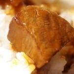 ガスビル食堂 - ガスビル食堂 名物料理 「ビーフカレー」